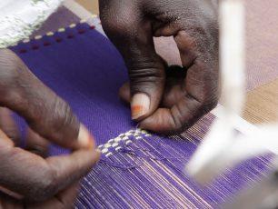 Afrika Tiss_Burkina Faso_Formation_Tissage motifs géométriques