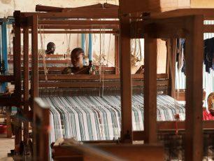 Afrika Tiss_Burkina Faso_ Formation_Grands métiers à tisser