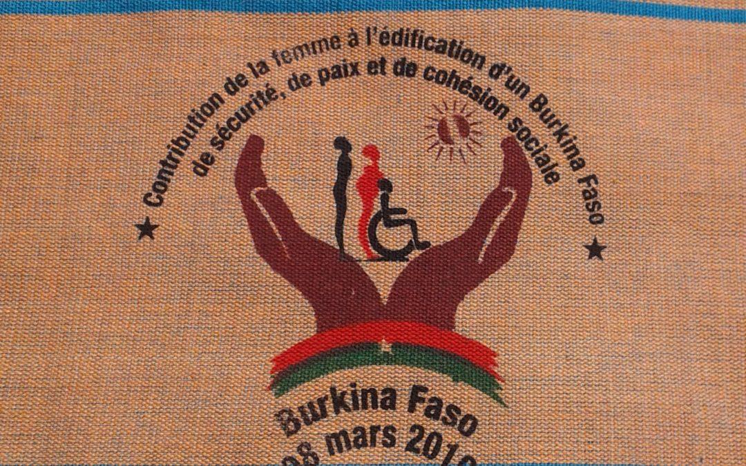 Le 8 mars 2019 au Burkina Faso : la contribution des femmes à la sécurité, la paix, et la cohésion sociale
