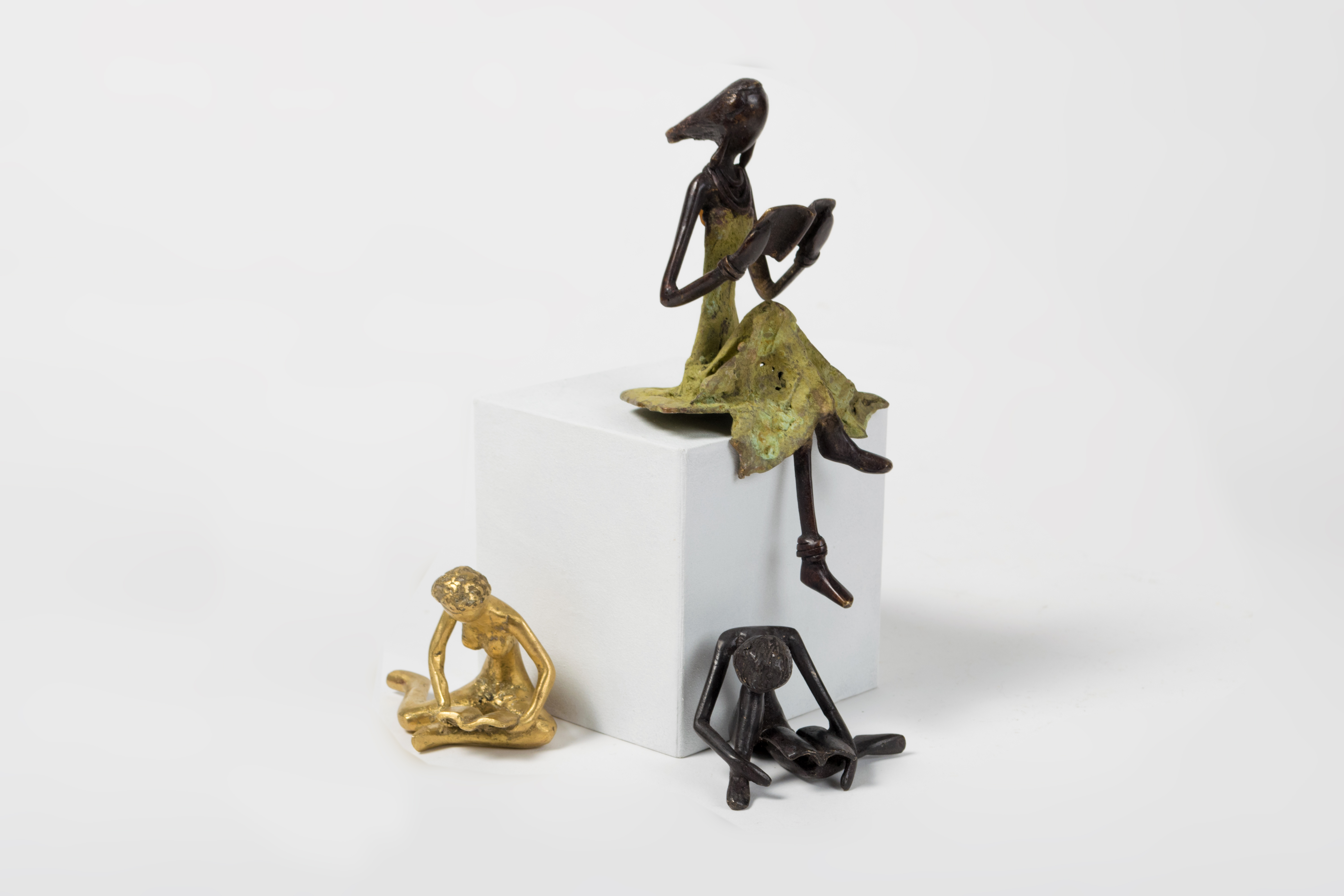 sculptures en bronze