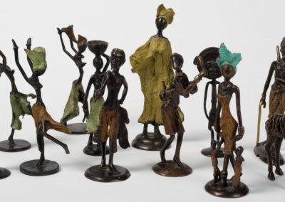Sculpture en bronze, découvrez la technique caractéristique du Burkina Faso