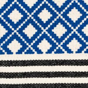 CABAS ANOUK - Tortue Bleu