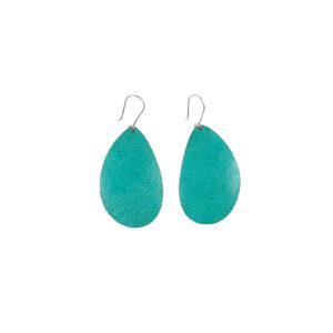 BOUCLES D'OREILLES OVALES - Turquoise