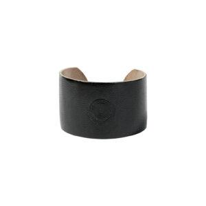 bracelet manchette cuir