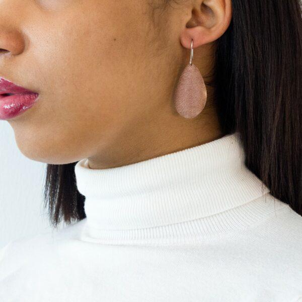 boucle d'oreille africaine