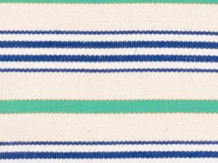 Rayé vert-bleu