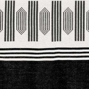 CABAS ANOUK - Motif Dubassi Noir