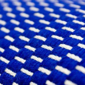 POCHETTE DAAZOU PM - Motif Grain de riz bleu