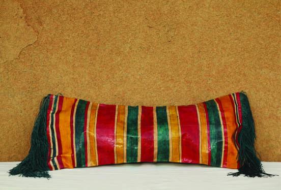 artisanat touareg, coussin traditionnel