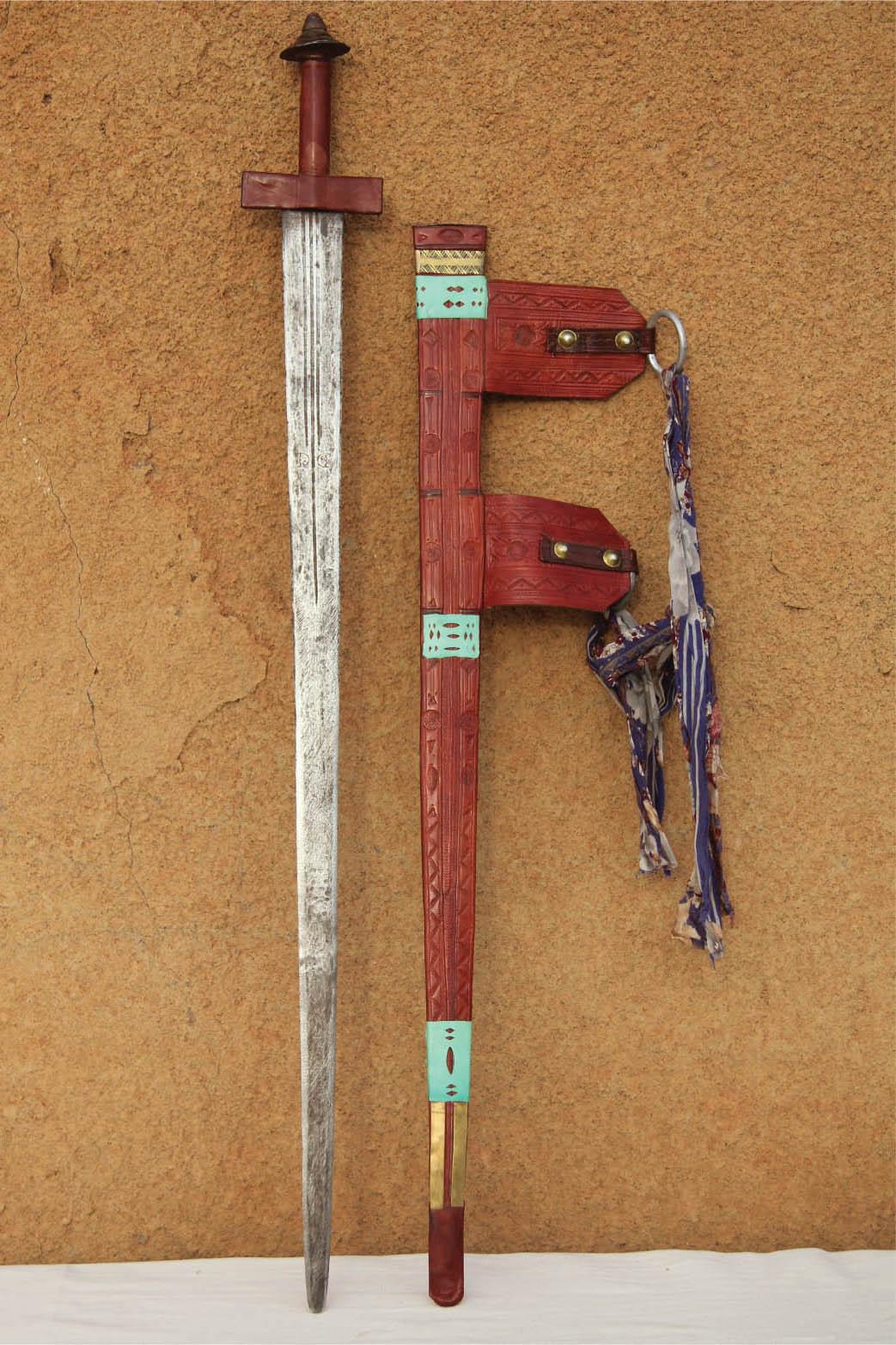 artisanat touareg, sabre